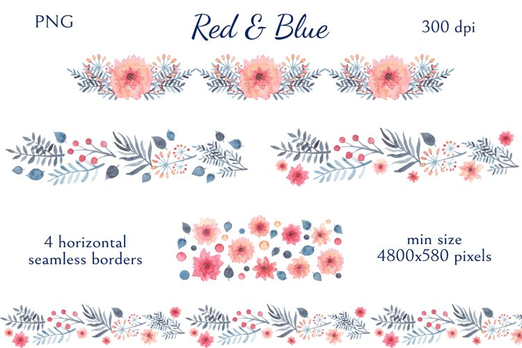 Red & Blue example 2