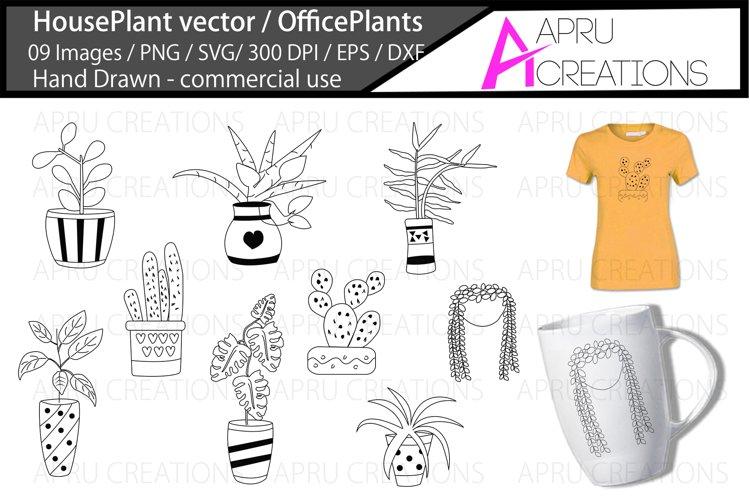 House plants svg / office plants vector