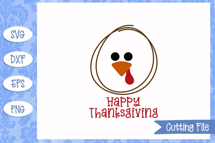 Happy Thanksgiving SVG File example image 1