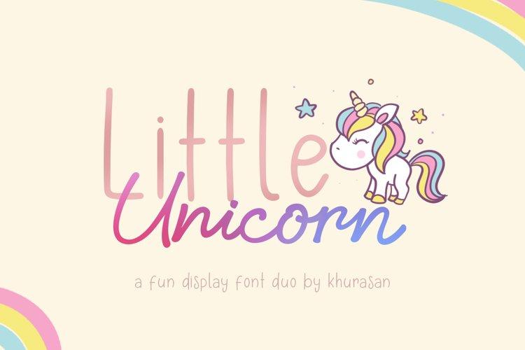 Little Unicorn example image 1