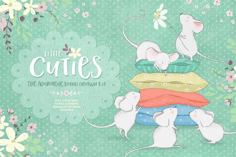 Little Cuties. Hand Drawn Illustrations