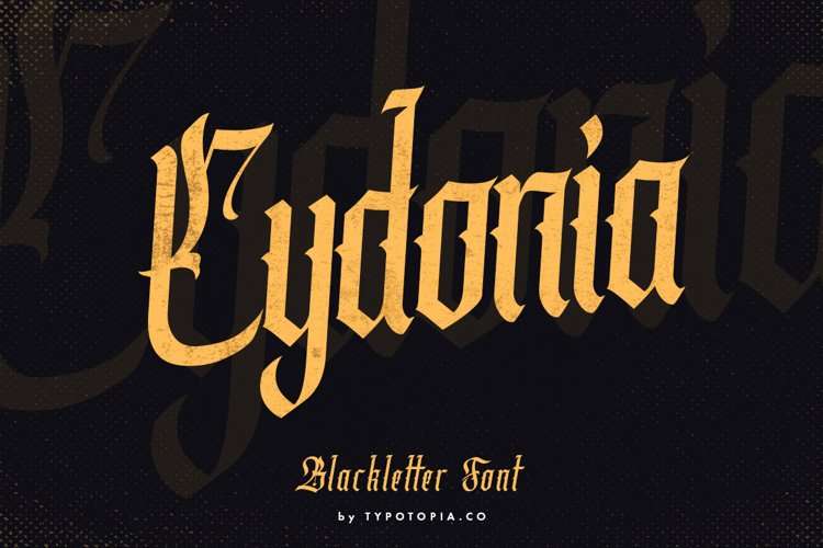 Cydonia - The Blackletter Font example image 1
