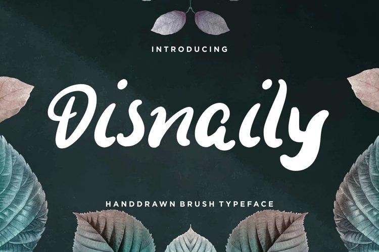 Disnaily Handdrawn Brush example image 1