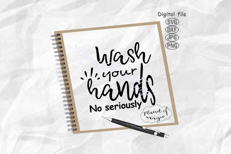 Wash Your Hands Svg, Bathroom Sign Svg, Toilet Svg example image 1