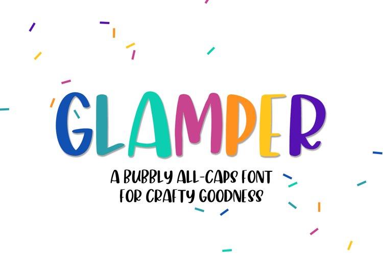Glamper Sans Font example image 1