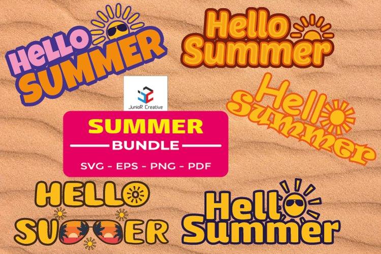 Summer Sublimation Bundle SVG