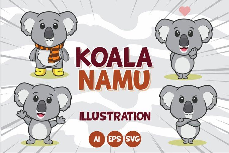 Koala Namu Illustration