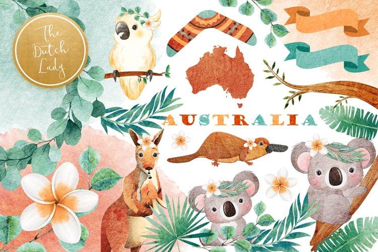 Australian Friends Clipart Set
