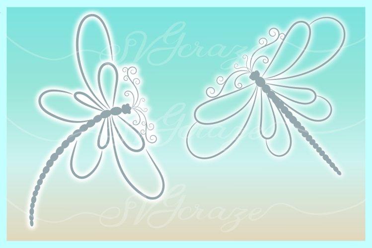 Dragonfly Mandala Zentangle Bundle Svg Dxf Eps Png Pdf Files - Free Design of The Week Design3