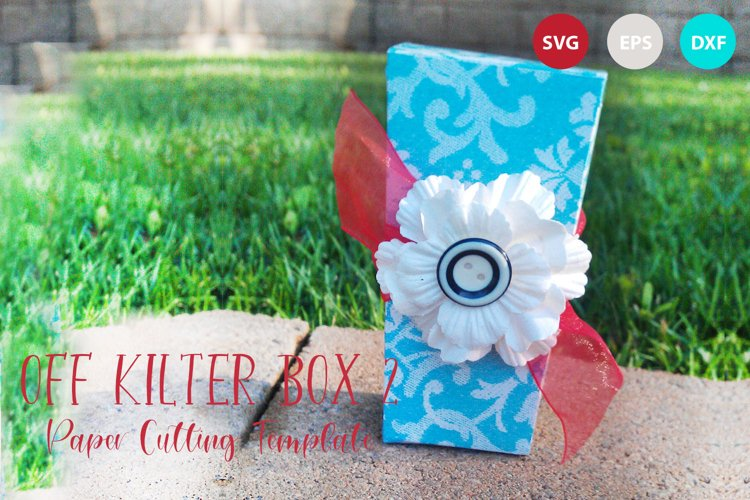 Off Kilter Box Template 2 example image 1