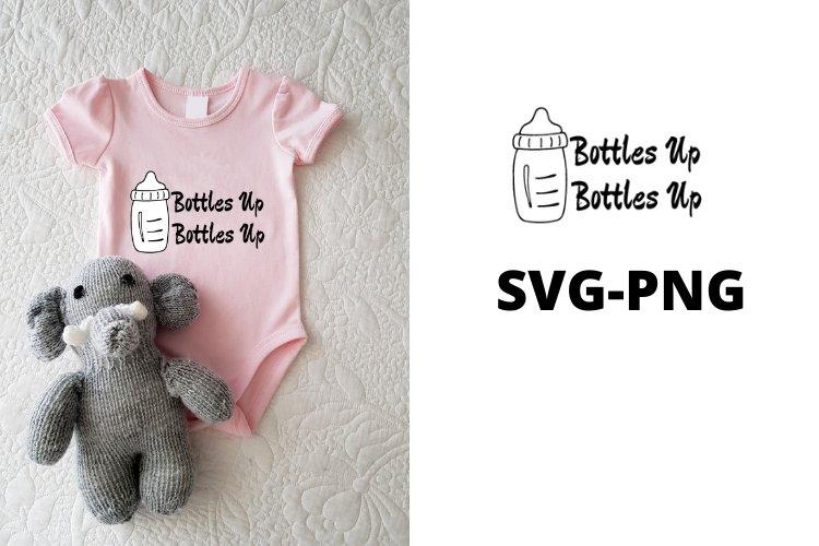 Bottles up SVG PNG