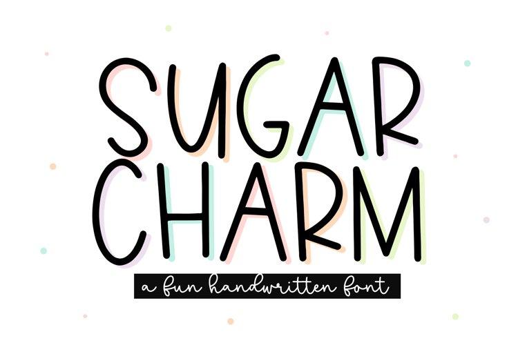 Sugar Charm - A Fun Handwritten Font