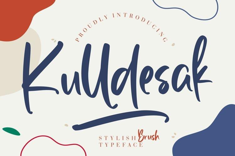 Kulldesak Stylish Brush example image 1