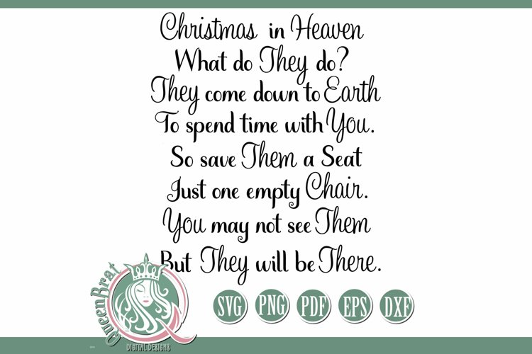 SVG   Christmas In Heaven