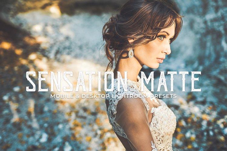 Sensation Matte Mobile and Desktop Lightroom Presets example image 1