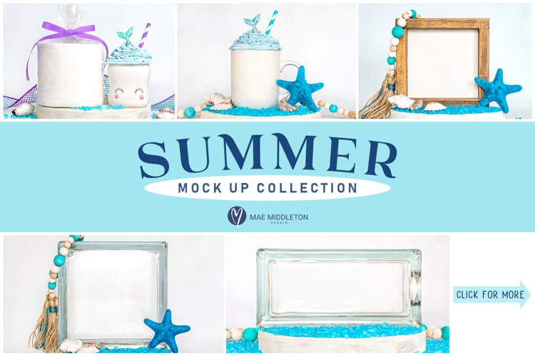 Summer Mockups | 5 Styled Photos