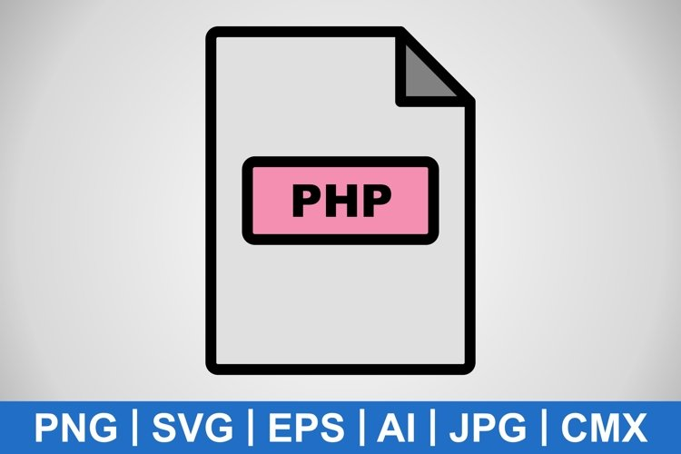 Vector PHP Icon example image 1