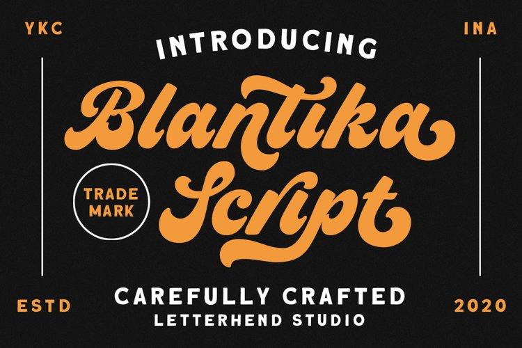 Blantika Script example image 1