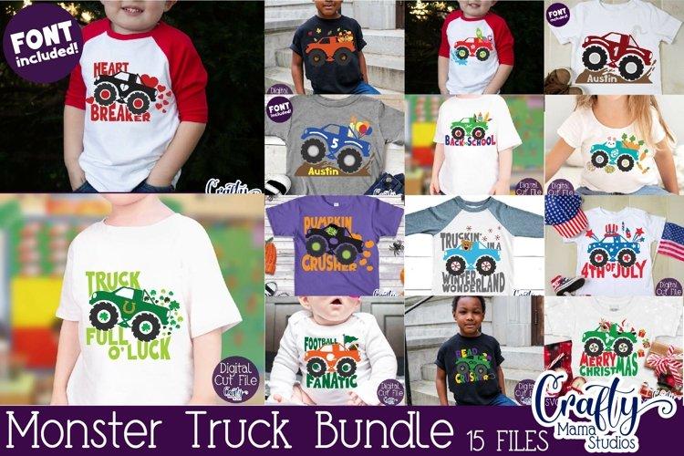 Monster Truck Svg, Monster Truck Shirt Svg, Holiday Truck