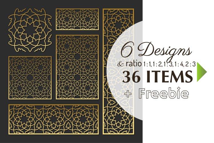 Download 36 Moroccan Stencil Laser Cut Files Privacy Screen Free 514544 Cut Files Design Bundles