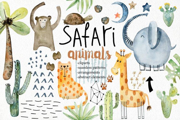Safari animals. Kit. example image 1