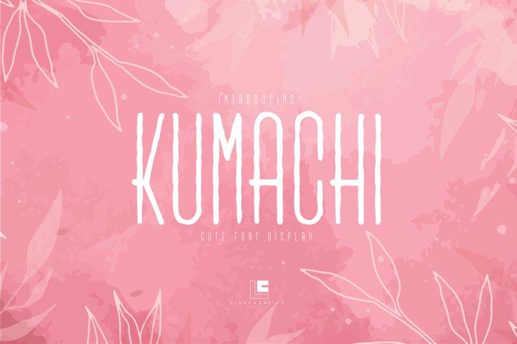 Kumachi example image 1