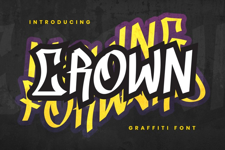 CROWN Font example image 1