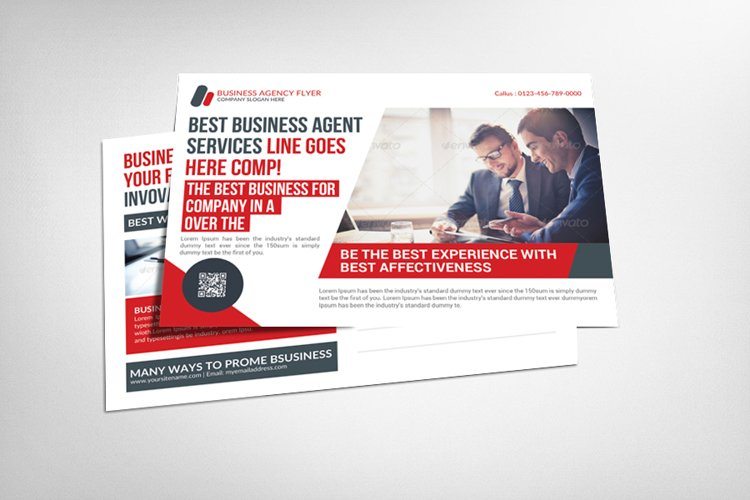 Business Promotion PostCard Template example image 1