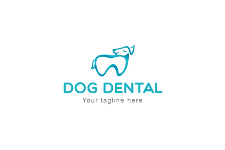 Dog Dental - Animal Stock Logo Template for Pet Care Shop example image 1