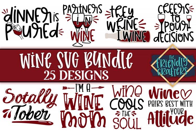 Wine Bundle - A Bundle of 25 Wine SVGs