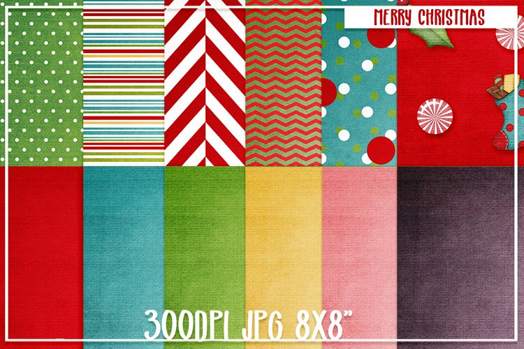 Christmas Papers background patterns textures