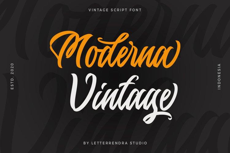 Moderna Vintage example image 1