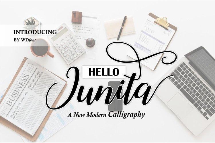 Hello Junita example image 1