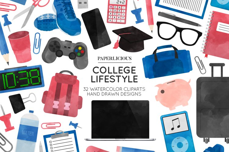 College Cliparts example image 1