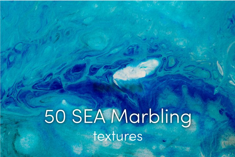 50 Sea marbling textures example image 1