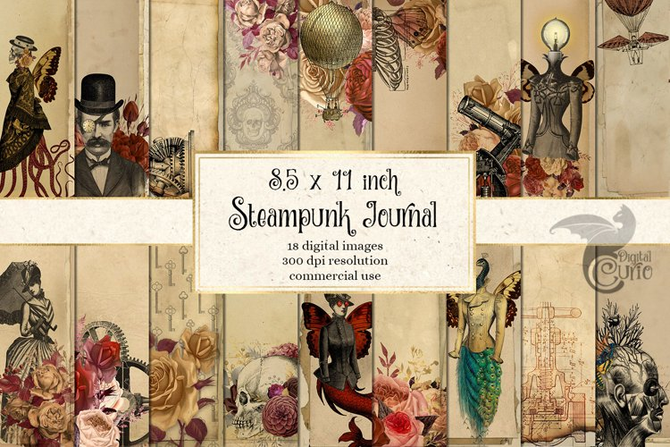 Steampunk Journal Paper