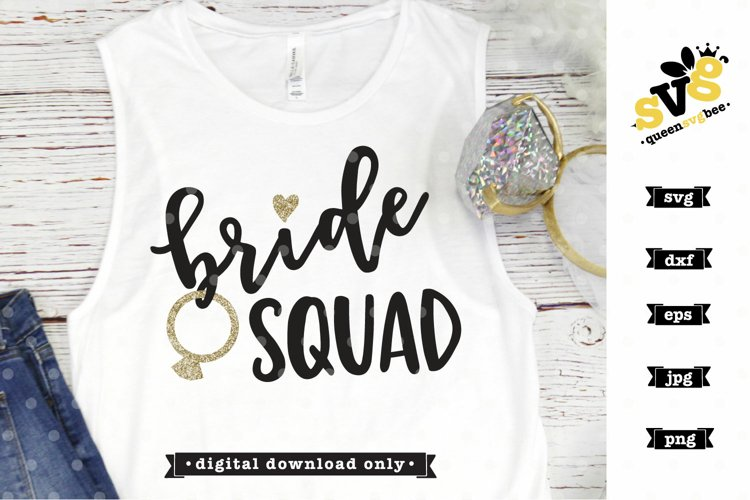 Bridal Party SVG file| Bride Squad SVG design