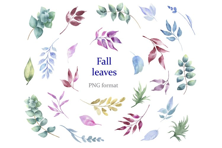Fall leaves example image 1