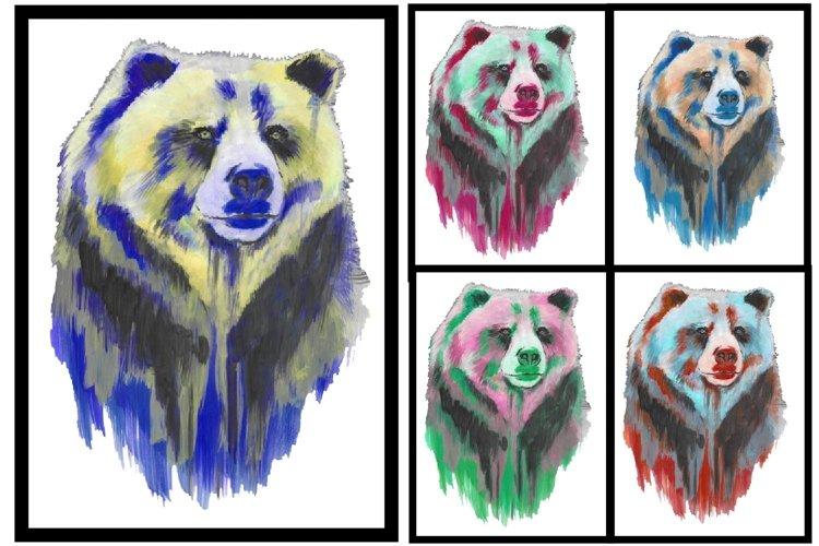 Animals png, animal sublimation, Dog, cat,zebra,bear,fox - Free Design of The Week Design6