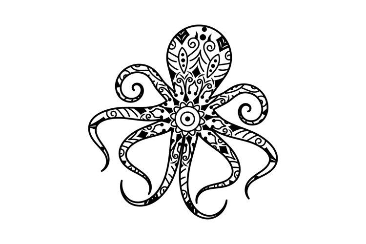 Octopus Mandalas