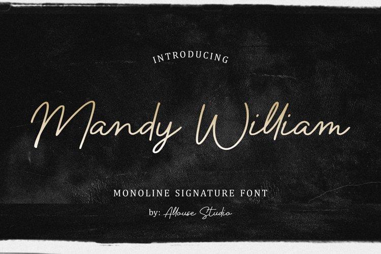 Mandy William example image 1