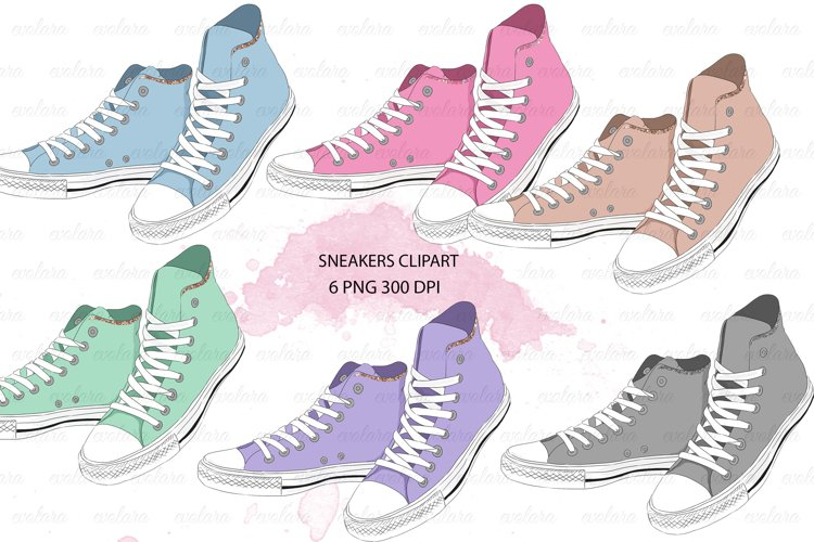Shoes Clipart Sneakers Clipart Sneaker School Clipart