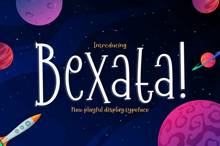 Web Font Bexata example image 1