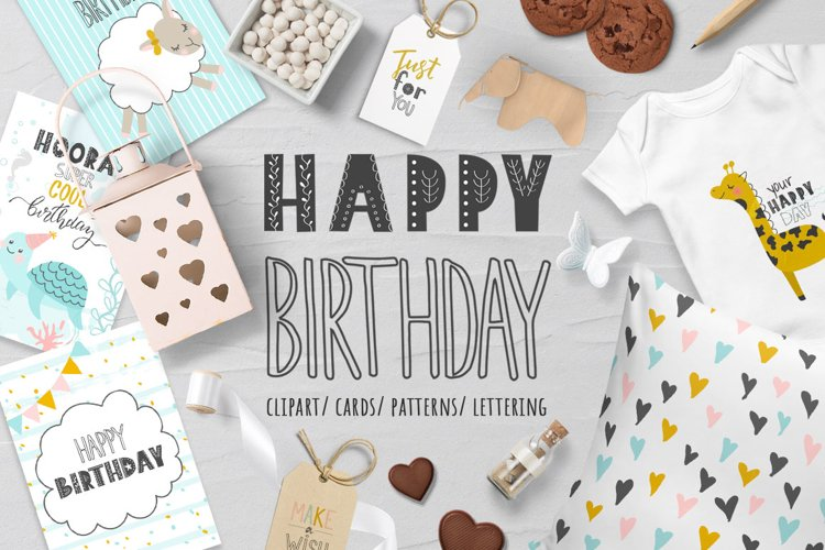 Happy Birthday Cute collection
