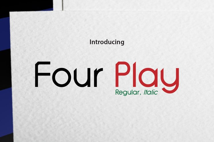 Four Play example image 1