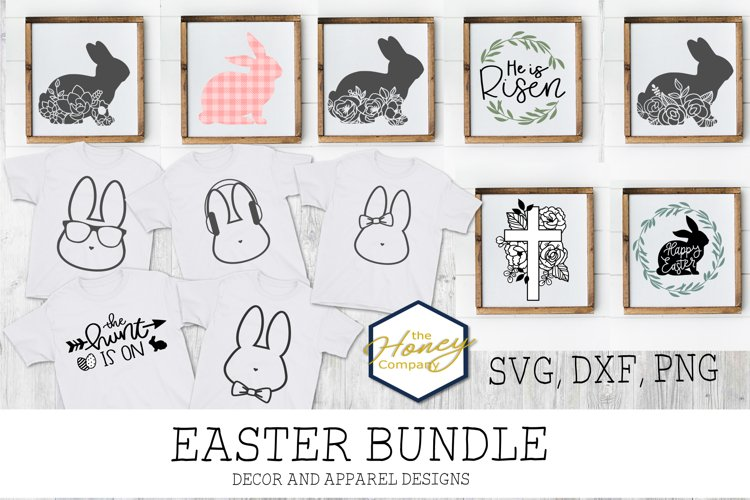 Hand Lettered Easter Bundle SVG DXF PNG Cutting Machine File
