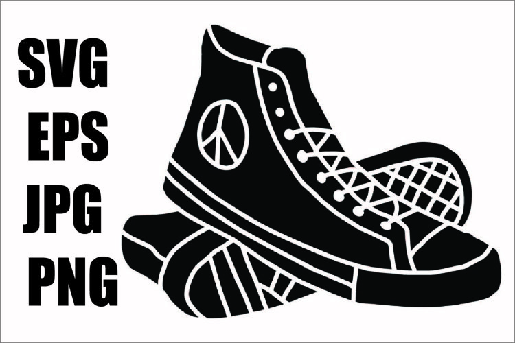 Shoes - SVG-EPS-JPG-PNG example image 1