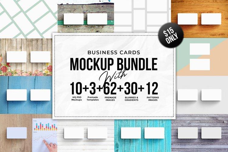 Business Card MockUps Bundle  Bonus