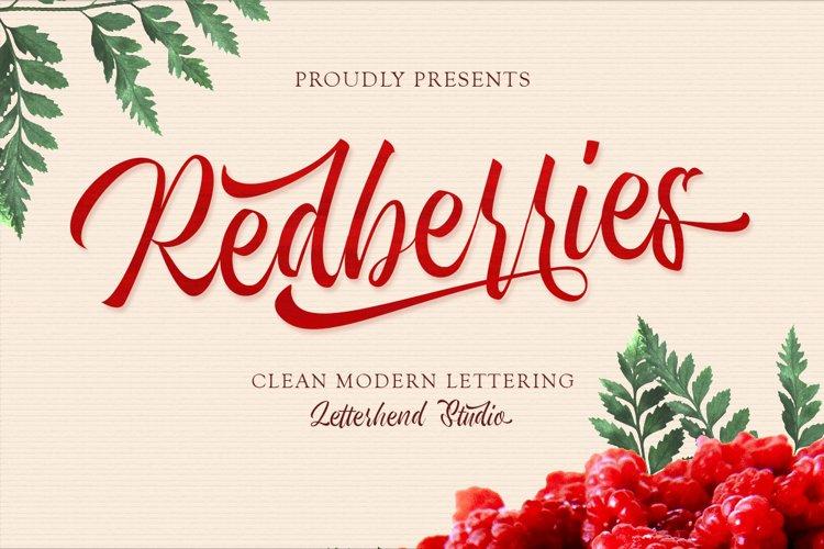 Redberries Script example image 1