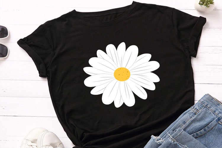 Daisy flower SVG, daisy svg, clipart, daisy cut file, daisy
